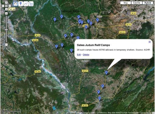 Salwa Judum Relief Camps