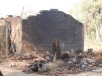 Houses burnt in Tadmetla village