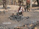 Houses burnt in Morupally village