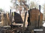 Houses burnt in Timmapur village